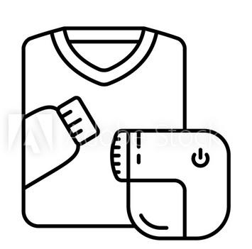Máy cắt lông xù quần áo